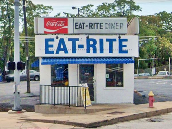 Old Eat-Rite Diner  in St. Louis Missouri
