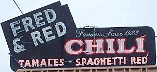 Sign of Fred and Reds in Joplin