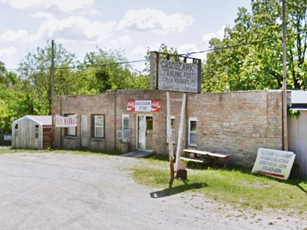 Gascozark Trading Post on Route 66 in Gascozark MO