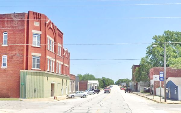 Downtown Carterville today