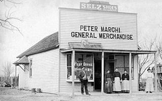 Peter Marchi store ca. 1905 Rosati MO - from rosati-mo.com