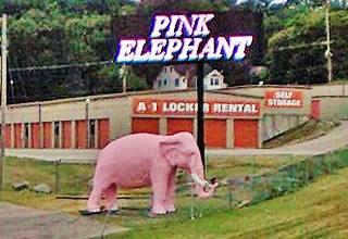 Pink Elephant in Fenton, Missouri