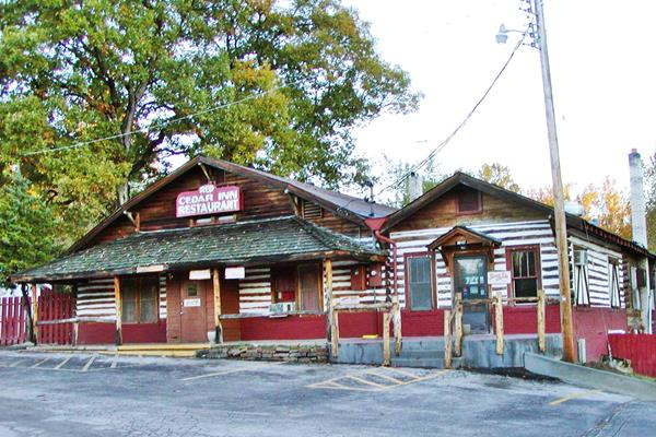 Historic Red Cedar Inn on Route 66 in Pacific Missouri