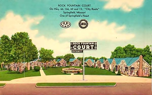 Historic Rock Fountain Tourist Court