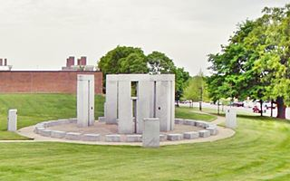 Public domain image Missouri S&T Stonehenge, at the University of Missouri, Rolla