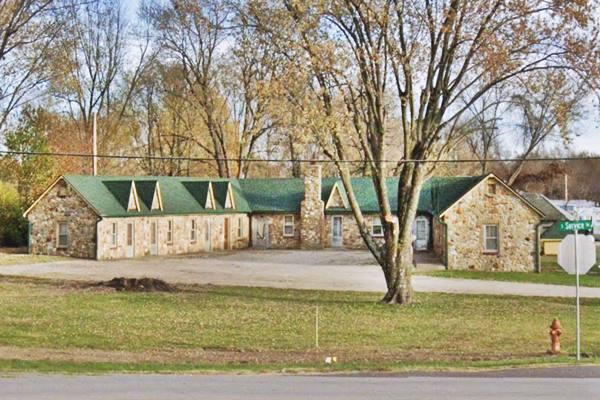 Shamrock Motel On Route 66 In Sullivan Missouri