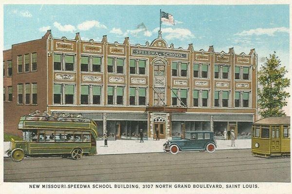 postcard of Speedwa School ca.1920s