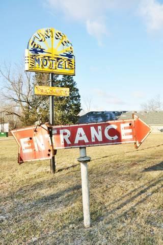 Sunset Motel, Villa Ridge neon sign