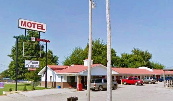 Current view of the former White Sands Motel, today Historic Route 66 Motel on Route 66 in Lebanon MO