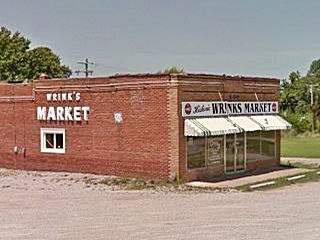 view of Wrink's Food Market today, Lebanon MO