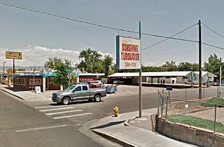 Present view of the 1948 Ace Cafe in Albuquerque New Mexico