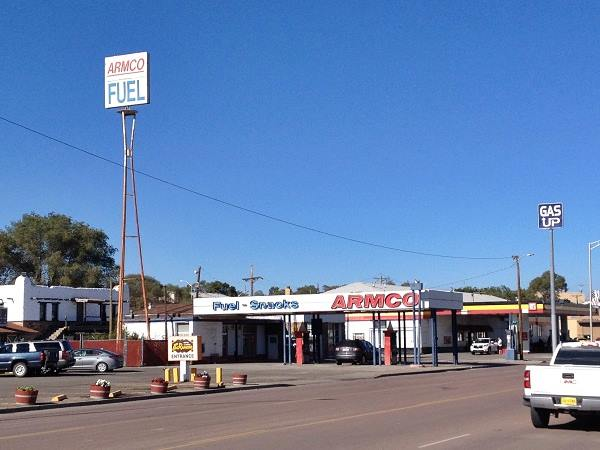 Armco Gas station Gallup, Route 66, New Mexico