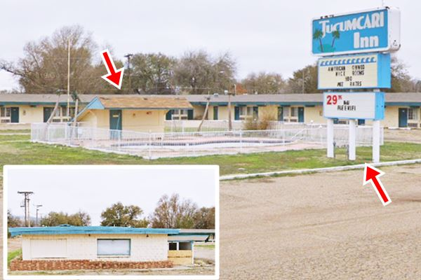 present appearance of Aruba Motel Tucumcari NM