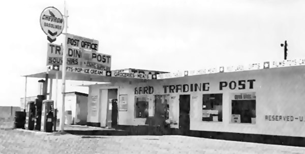 Bard trading post in the 1960s