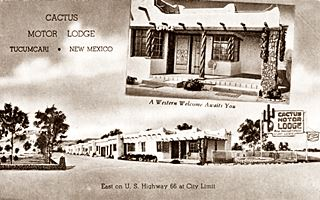 Cactus Lodge, Route 66 Tucumcari