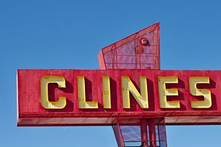 Clines Corners Sign