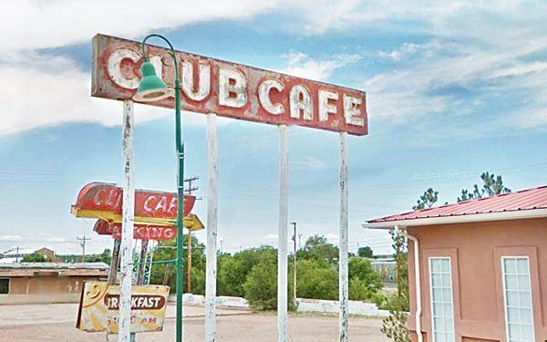 Club Cafe neon Sign, Santa Rosa, NM
