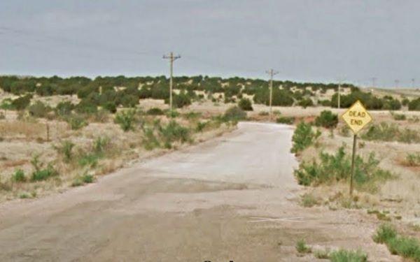 1926 Route 66 alignment, Cuervo, New Mexico