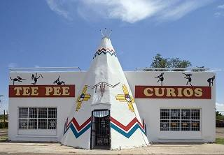 Teepee souvenir shop, New Mexico
