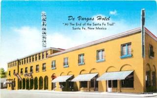 De Vargas Hotel postcard