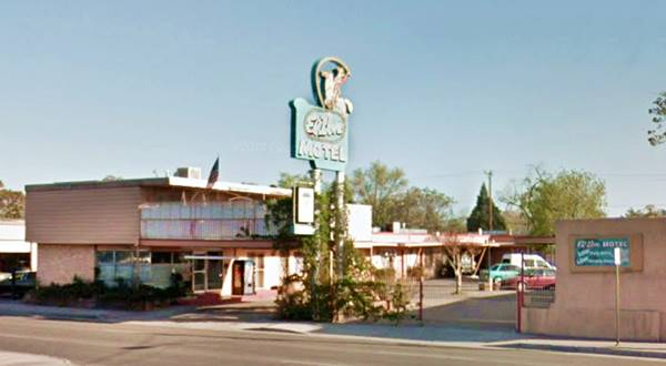View of the El Don Motel in Albuqerque NM