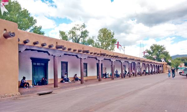 Palace of the Governors Santa Fe New Mexico