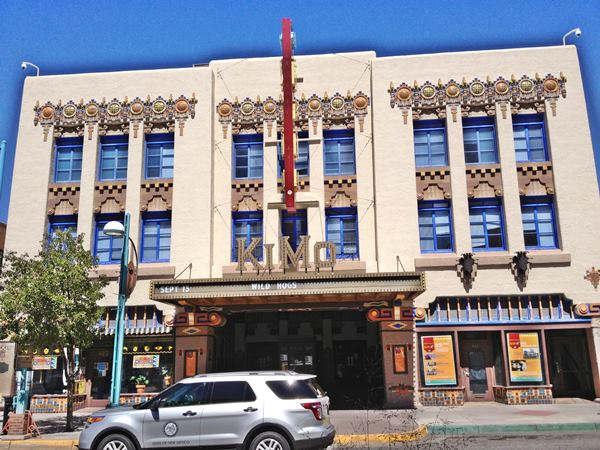 Historic Kimo Theater in Albuquerque, Route 66, New Mexico