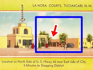 La Nora Court, Route 66 Tucumcari