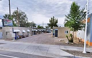 Siesta Court motel west of Albuquerque, NM