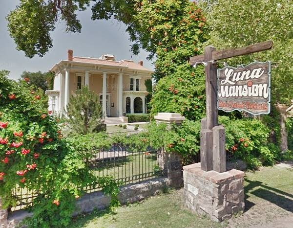 The Luna Otero Mansion in Los Lunas NM