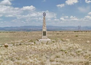 Mormon Battalion marker, Budaghers, NM