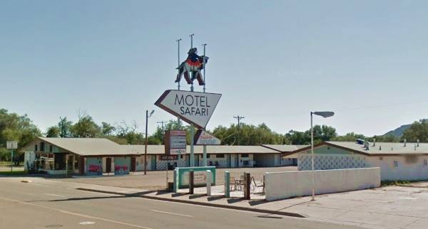present appearance of Motel Safari Tucumcari NM