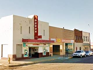 Odeon Movie theater, Route 66 Tucumcari