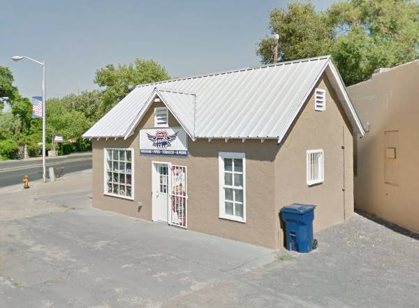 Historic Phillips Gas Station in Los Lunas NM