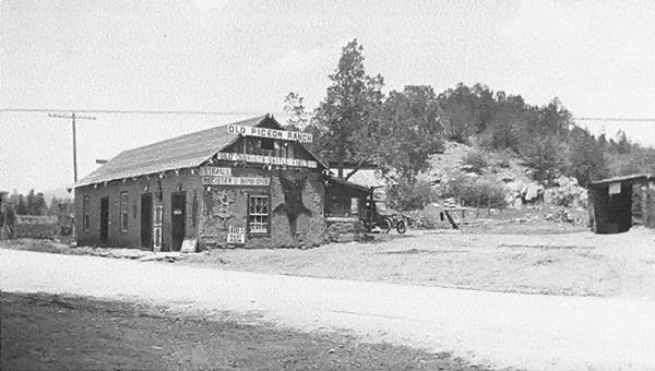 Pigeon Ranch in 1925, Glorieta Pass, NM