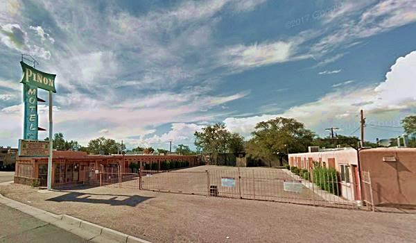View of the Piñon Motel in Albuqerque NM