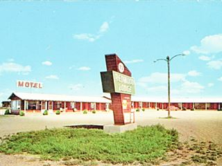 Redwood Lodge Motel, Route 66 Tucumcari