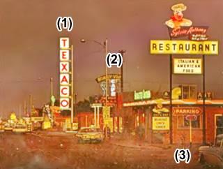 postcard, Route 66 Tucumcari