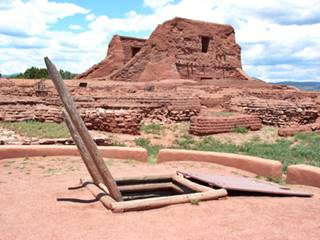 Ruins at Pecos Pueblo