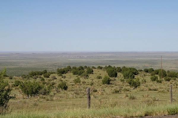 View of San Jon, looking north from the caprock escarpment of the Llano Estacado