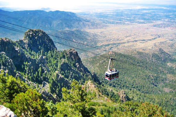 Aerial Tramway at Sandia Mountain, New Mexico