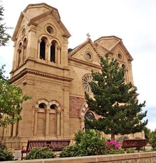 Saint Francis Cathedral, Santa Fe NM