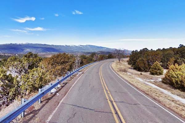 Sedillo Hill Road, near Tijeras the 1937 Route 66 in New Mexico