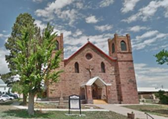 Our Lady of Sorrows Church. Las Vegas, NM