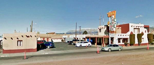 View of the Tewa Lodge in Albuqerque NM