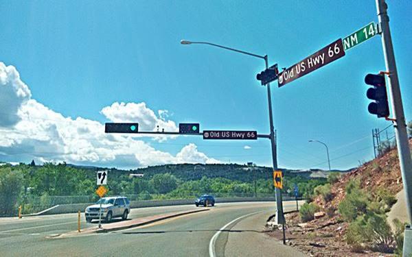 US 66 in Tijeras