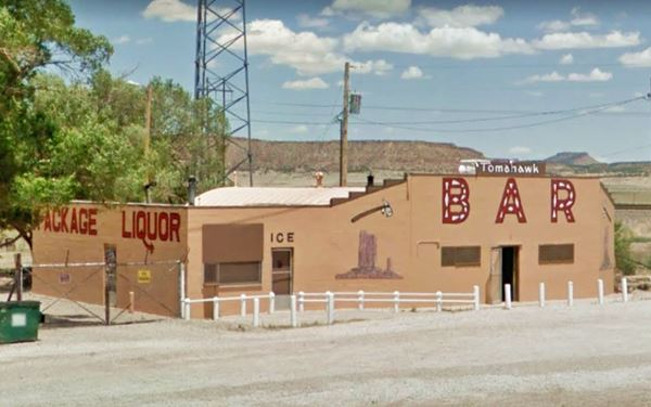 Tomahawk Bar, Prewitt near Route 66, New Mexico