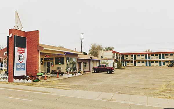 present appearance of Town House Motel Tucumcari NM