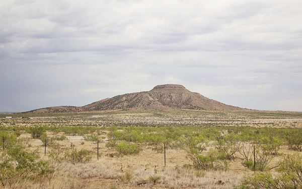 Tucumcari Mountain, Tucumcari, New Mexico