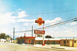 Old Whiting Brothers motel west of Albuquerque, NM